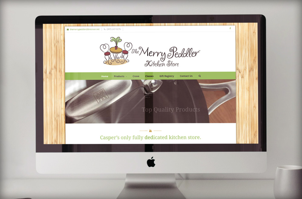 Merry Peddler - Crave website