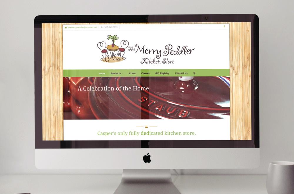 Merry Peddler Crave website
